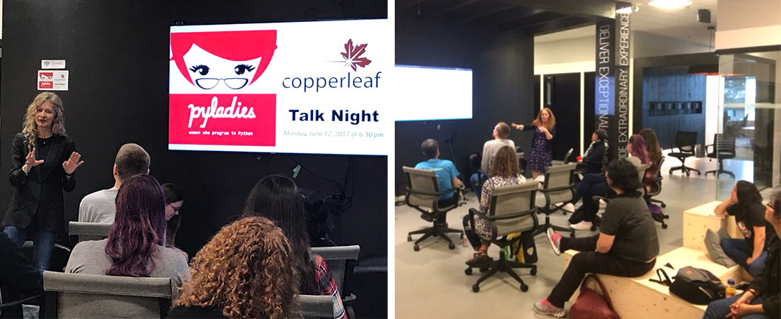 Vancouver PyLadies Python Programmers Meetup | Copperleaf