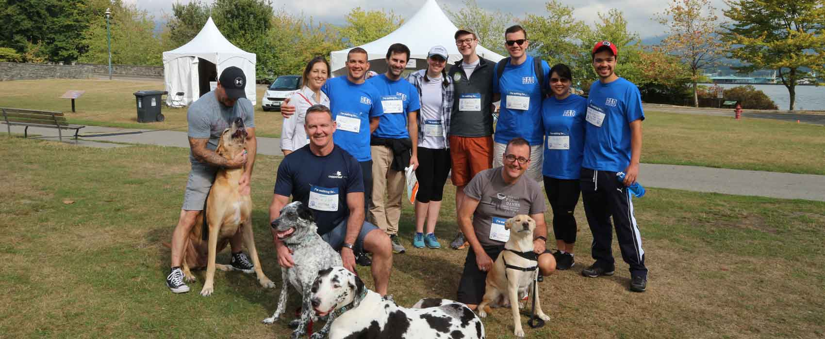 Image for Copperleaf's RAD Initiative Walks for Puppies