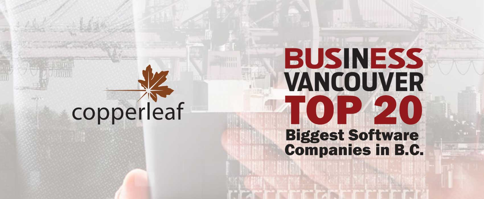Image for Copperleaf Ranks in the Top 20 Biggest Software Companies in B.C.