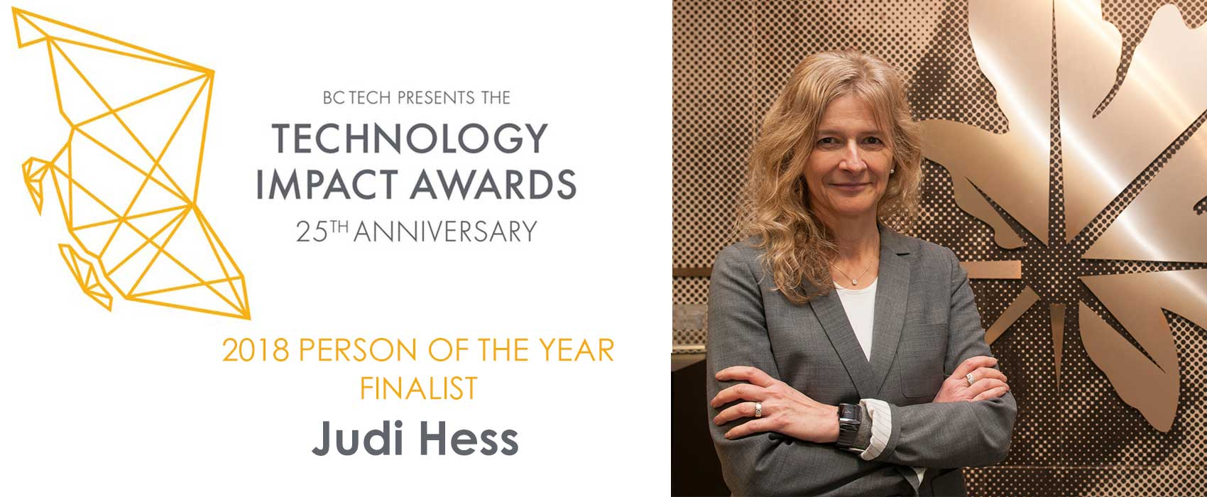 Image for Copperleaf CEO Judi Hess Named Finalist for Person of the Year Award by BC Tech Association