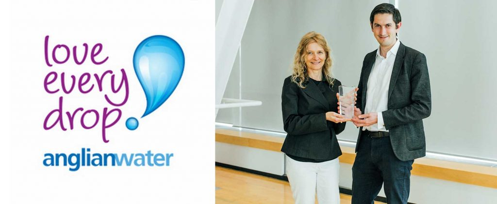 """Anglian Water Wins the Copperleaf's Inaugural """"Innovator of the Year"""" Award"""