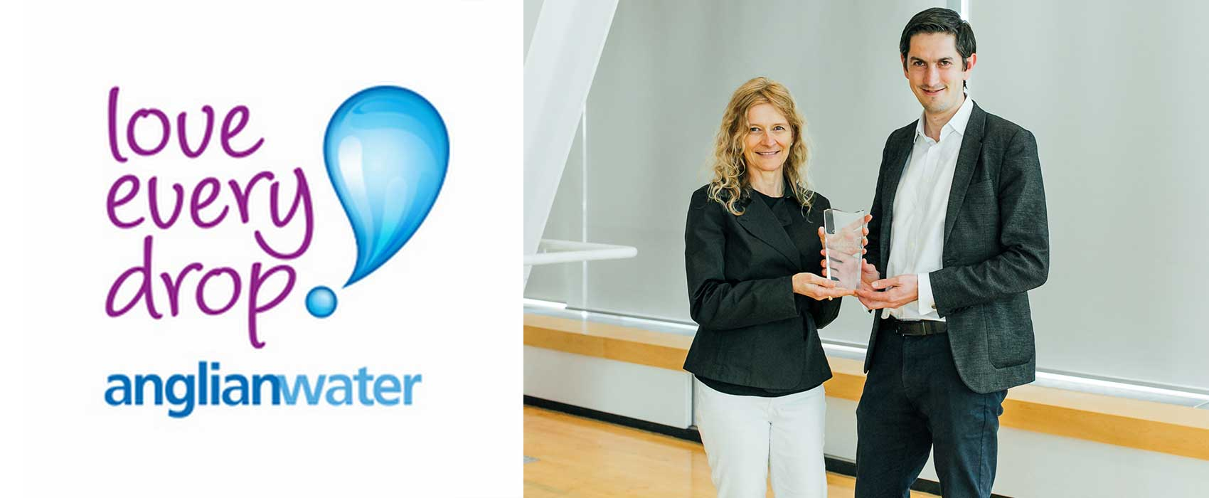 """Image for Anglian Water Wins the Inaugural Copperleaf Community """"Innovator of the Year"""" Award!"""