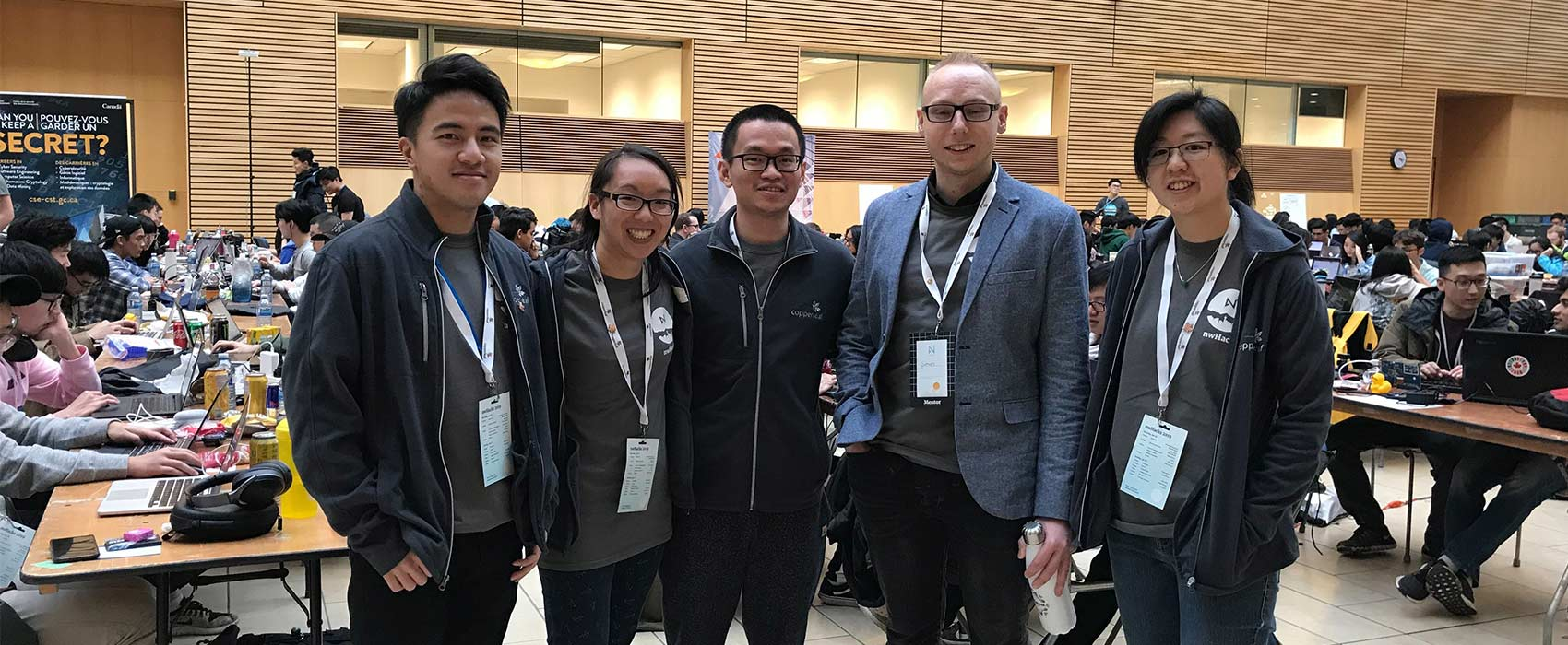 Image for Copperleaf Supports Our Local Tech Community at nwHacks 2019
