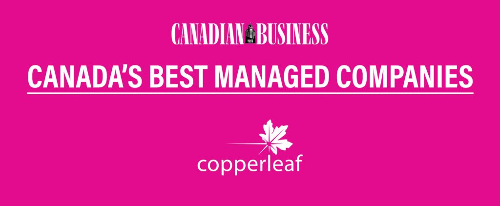 Copperleaf: Canada's Best Managed Companies 2019 | Asset Management
