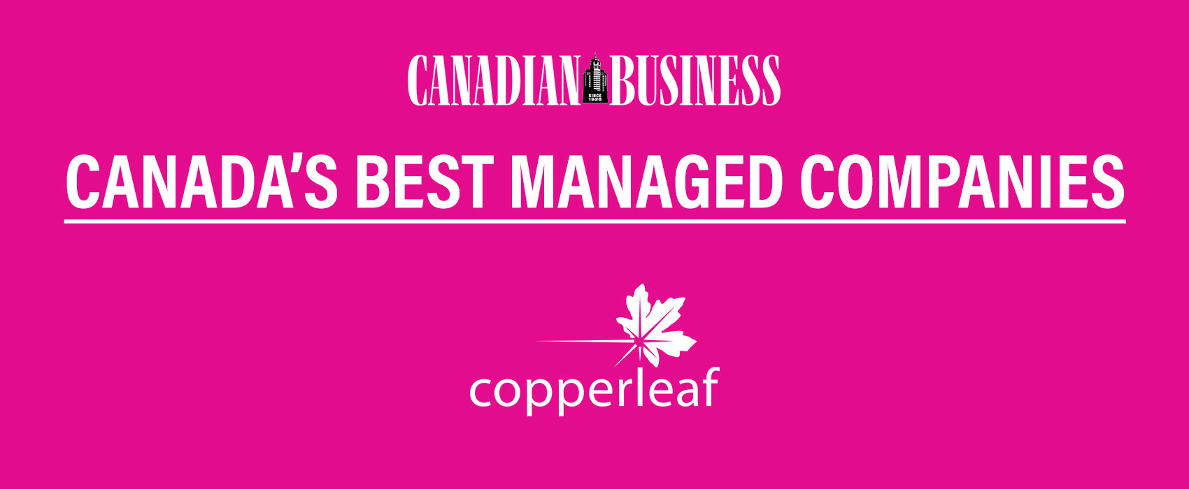 Image for Interview: Judi Hess Discusses Copperleaf's Unique Culture with Canadian Business