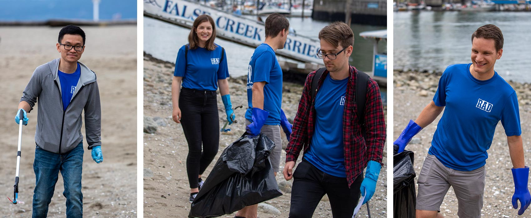 Copperleaf's RAD Initiative Participates in the Great Canadian Shoreline Cleanup | Copperleaf