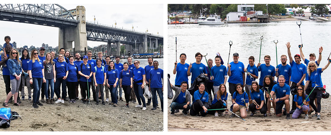 Image for Copperleaf's RAD Initiative Participates in the Great Canadian Shoreline Cleanup