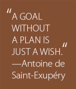 QUOTE A Goal Without A Plan | Copperleaf